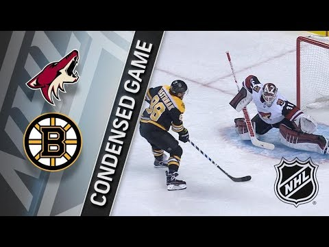 Arizona Coyotes vs Boston Bruins – Dec. 07, 2017 | Game Highlights | NHL 2017/18. Обзор матча