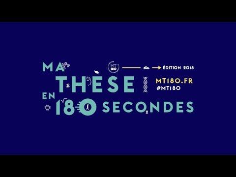 Ma thèse en 180 secondes 2018 - Finale Sorbonne Université