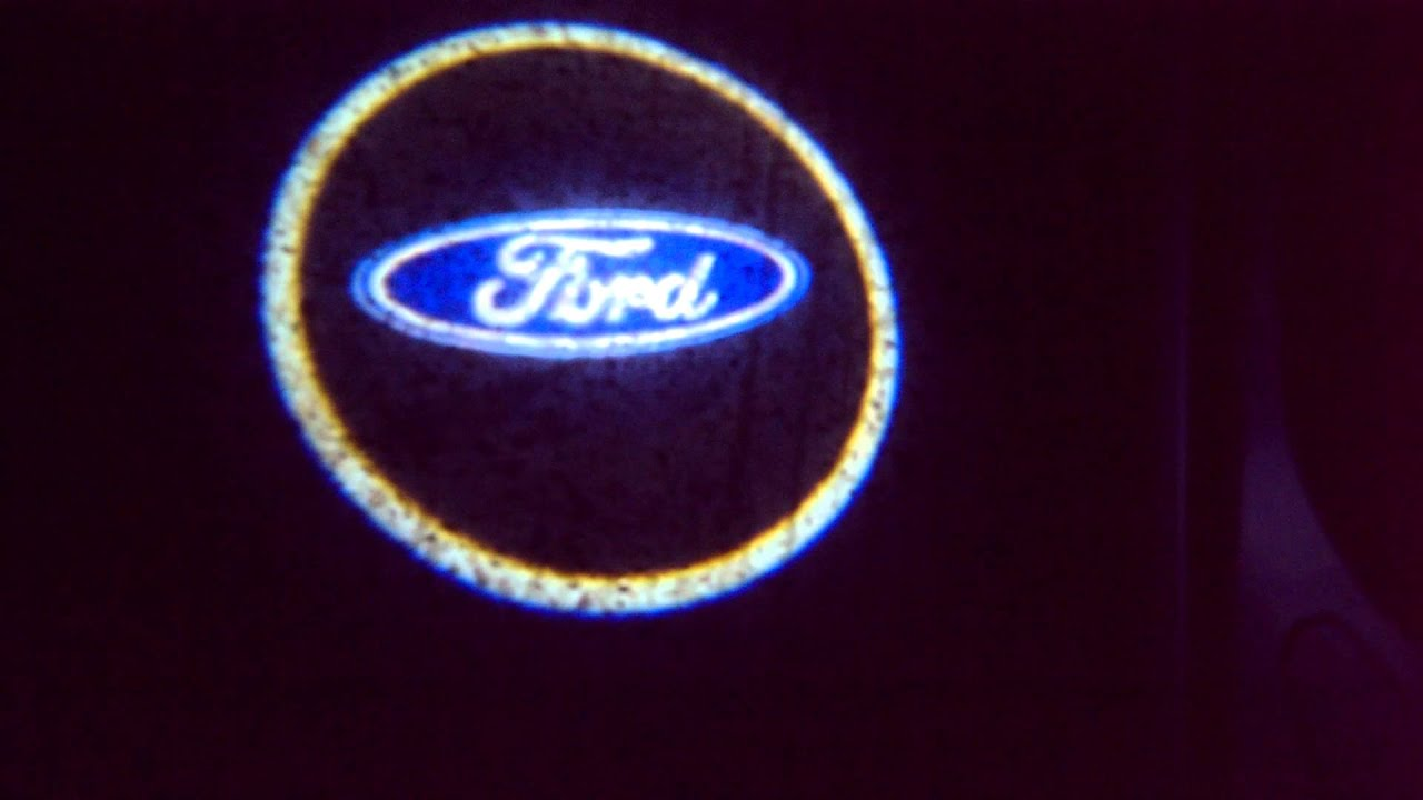 Ford Led Puddle Lights Youtube