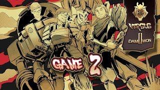 Vedius VOD Review - G2 vs Damwon Worlds Quarterfinals Game 2
