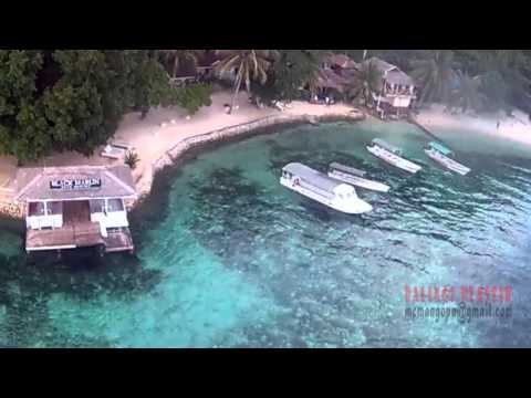 Scenery of Coastal Areas and Resorts in Kadidiri Island , Indonesia #baling2plastik - Syma x8w