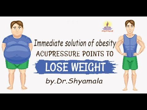 Immediate solution of obesity by Acupuncture by Dr Shyamala (Aruljothi tv)