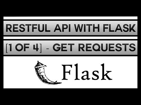 Creating a RESTFul API With Flask [1 of 4]...