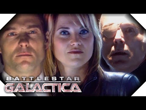 Battlestar Galactica | Negotiating With Cylons