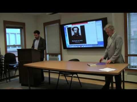 "Brazil Lecture Series: ""Machado de Assis: A Literary Life"""