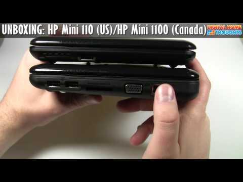 UNBOXING: HP Mini 110 (USA) / HP Mini 1100 (Canada) Netbook