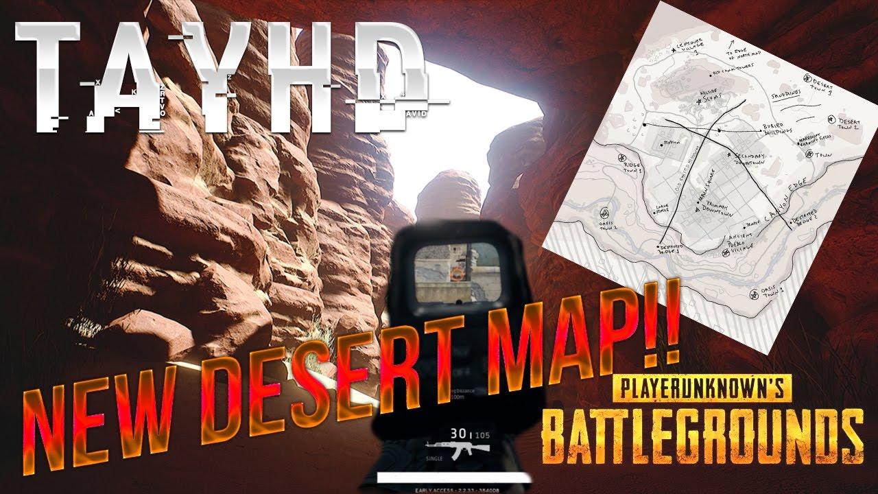 Playerunknown S Battlegrounds Maps Loot Maps Pictures: NEW DESERT MAP & MORE PLAYERUNKNOWN BATTLEGROUND NEWS
