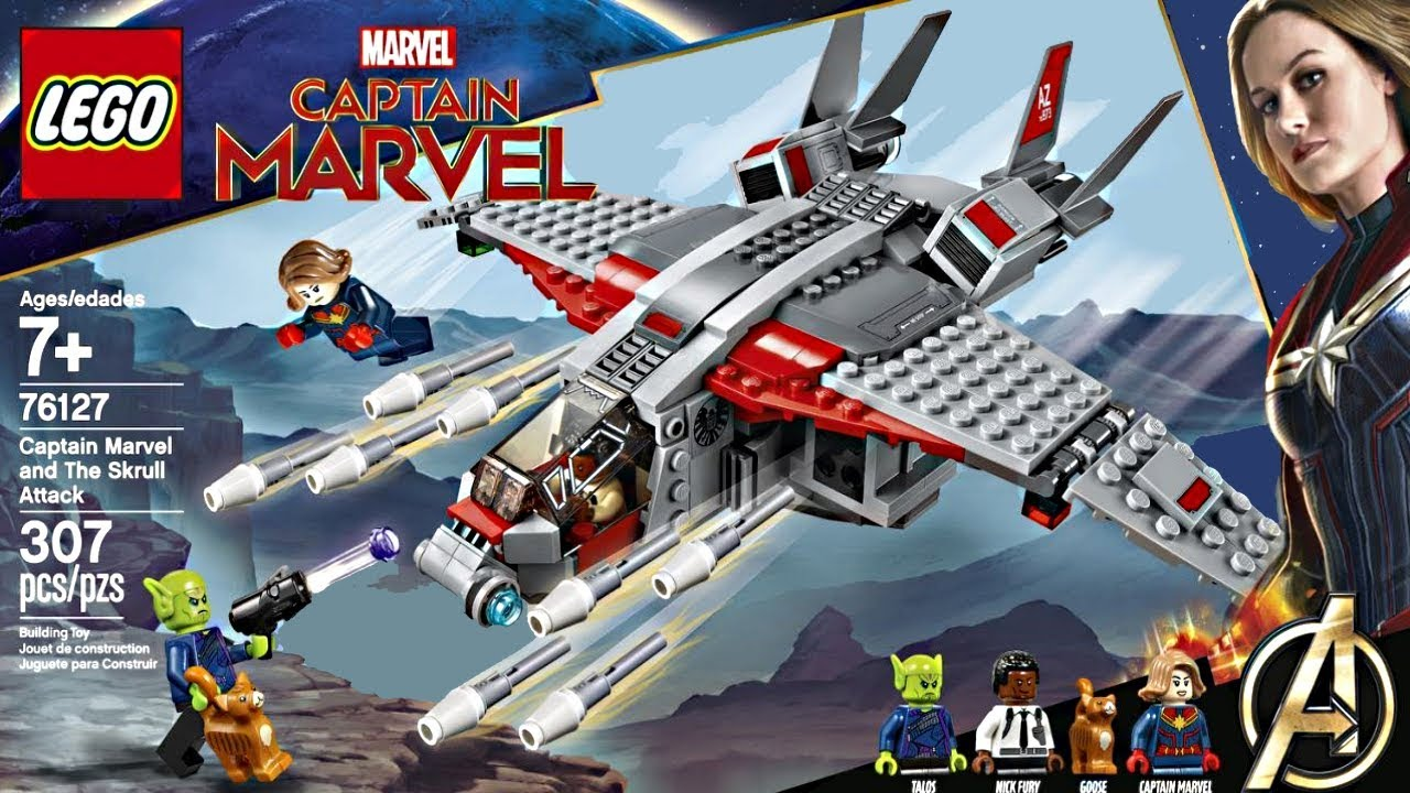 lego captain marvel 2019 set what a deal youtube. Black Bedroom Furniture Sets. Home Design Ideas