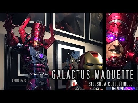Galactus Maquette Unboxing And Review By Sideshow In HD
