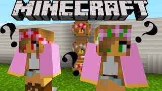 Minecraft - Little Lizard - YOUTUBER LUCKY BLOCKS (LITTLE KELLY, LITTLE LIZARD, SHARKY)
