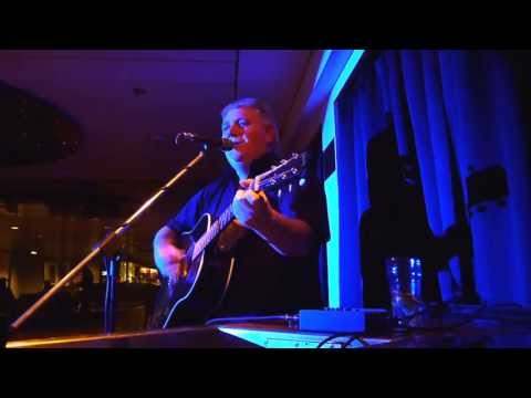 Entertainer Mick Hutchinson on the DFDS Seaways