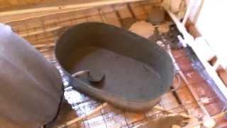 Водяной теплый пол в пристройке и ванной(Как сделать водяной теплый пол своими руками. Укладка плитки Все про отопление: http://sdelay.tv/group/vse-pro-otoplenie., 2015-08-31T00:57:32.000Z)