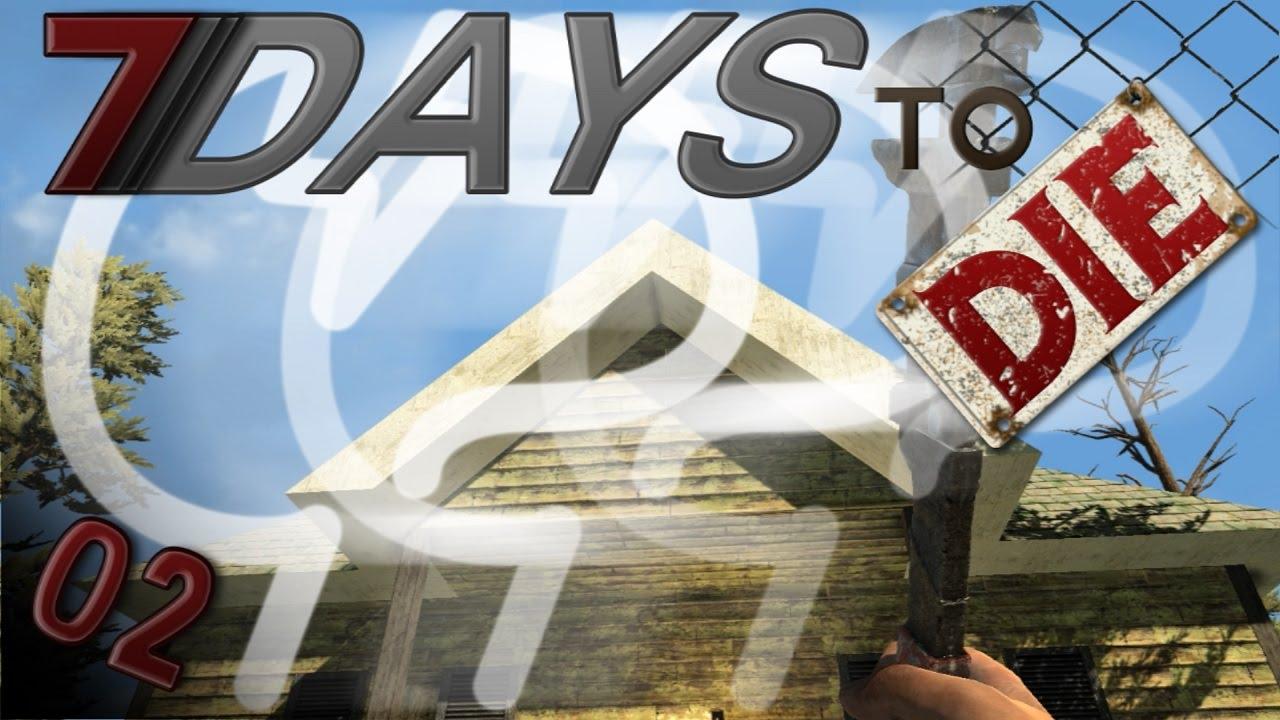 7 days to die mindcrack server forge roof garden 2 for Gardening 7 days to die