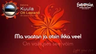 "Ott Lepland - ""Kuula"" (Estonia) - [Instrumental version]"