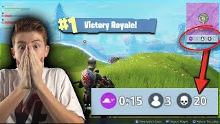 *EPIC* 20 KILL SQUAD GAME! WINNING TWICE IN Fortnite: Battle Royale!
