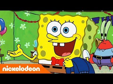 🔴 Selamat Ulang Tahun Spongebob! 🎉 | Nickelodeon Bahasa