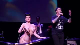"Marc Almond with Dita Von Teese ""Jacky"" Oct 27, 2019"