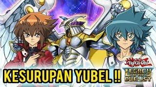 YUGIOH LOTD GX #16 - JADEN VS JESSE (YUBEL) !!