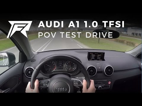 2016 Audi A1 Sportback 1.0 TFSI S line - POV Test Drive