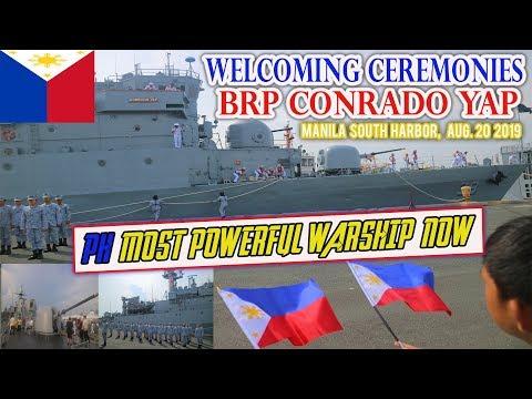 PINAKAMALAKAS NA BARKONG PANDIGMA NG PHILIPPINE NAVY, DUMATING NA (BRP CONRADO YAP)