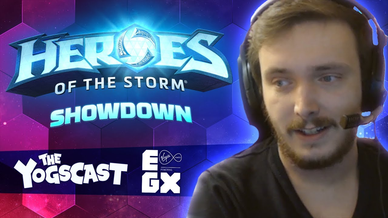 Yogscast Heroes of the Storm Showdown at EGX!