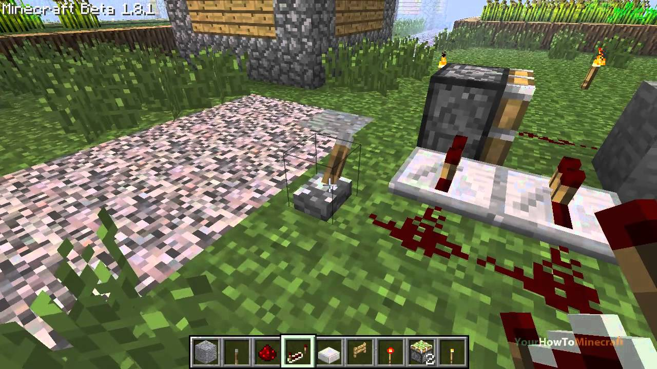 Stone Fence Gate Minecraft