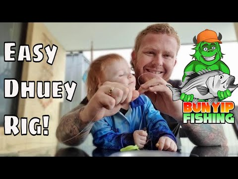 How To Tie A Dhu Fish Rig, Easy Dhuey & Snapper Rig With A Twist