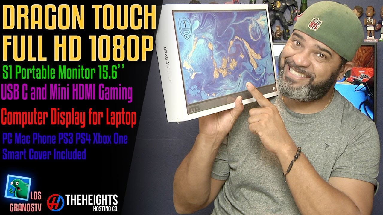 Download Dragon Touch S1 Portable Monitor 15.6'' Full HD 1080P : LGTV Review