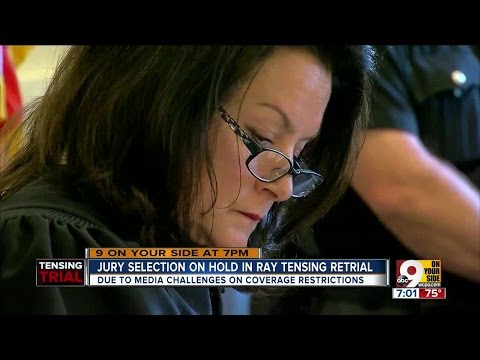 Jury selection on hold in Ray Tensing retrial