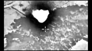 Нанесение авиаудара по скоплению военной техники бандформирования ИГИЛ