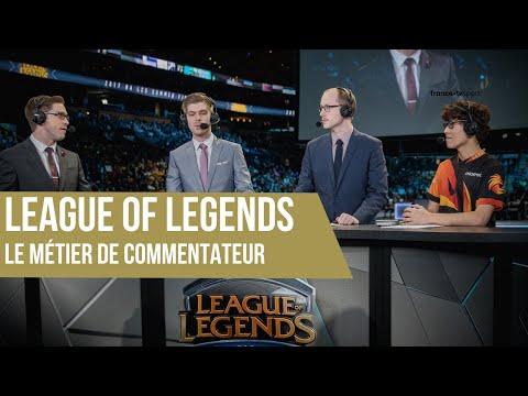 League of Legends, le métier de commentateur