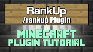 Rankup Plugin Tutorial Minecraft 1.10 [OLD]