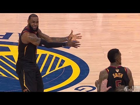 JR Smith Chokes! LeBron 51 Points Game 1! 2018 NBA Finals