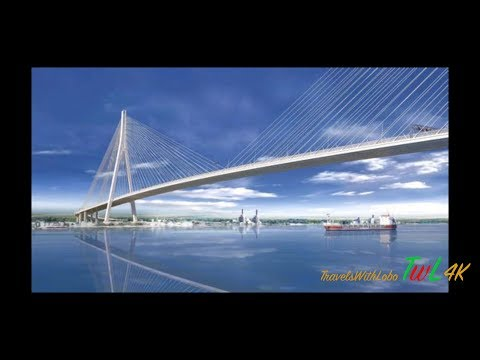 DETROIT MEGA PROJECT - Gordie Howe Bridge - Tunnels - Bridges - DELRAY