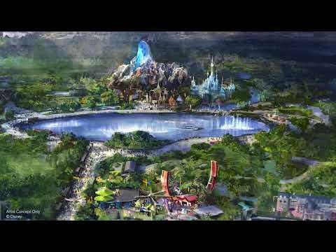 Expansion for Disneyland Paris (2020-2025) : Frozen, Star Wars, Pixar & Marvel