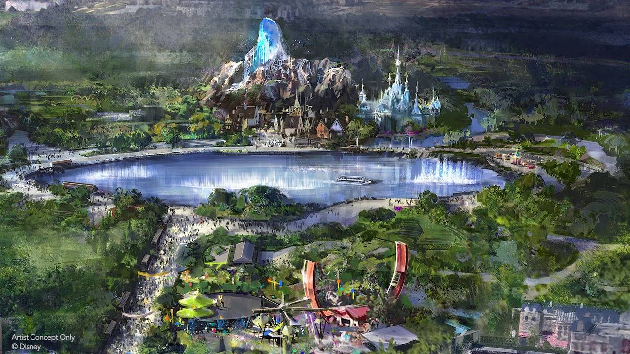 Disneyland New Rides 2020 Expansion for Disneyland Paris (2020 2025) : Frozen, Star Wars