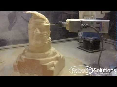 RSI Cobra Sculpting a head of George Bush Sr