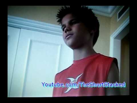 Taylor Lautner's audition for 'The Adventure's of Shark Boy and Lava Girl' - RARE!