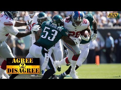 Philadelphia Eagles - New York Giants Pre-Game | Agree 2 Disagree
