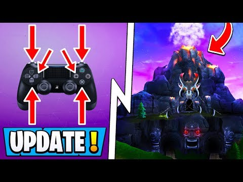 *NEW* Fortnite Update! | 5.5 Info, Volcano Sound Effects, Custom Controller Binds!