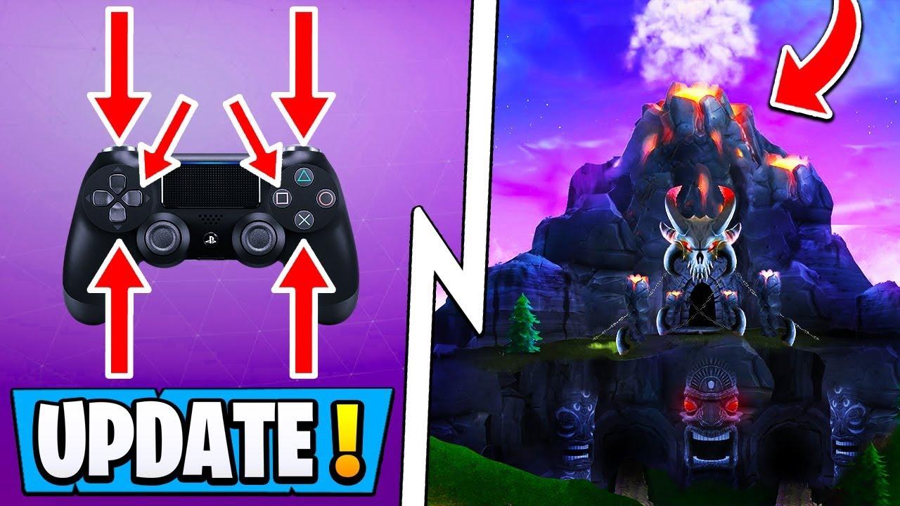 *NEW* Fortnite Update! | 5.5 Info, Volcano Sound Effects ...