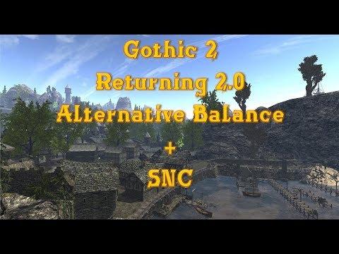 Готика 2 Возвращение 2.0, АБ+СНК - #1 Начало