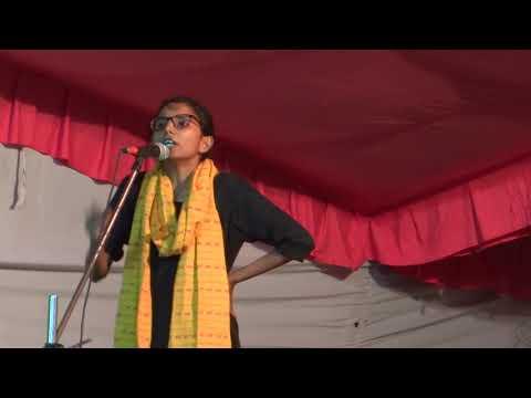 Geeta Kumari speaks at Presidential Debate of JNUSU Elections 2017-18