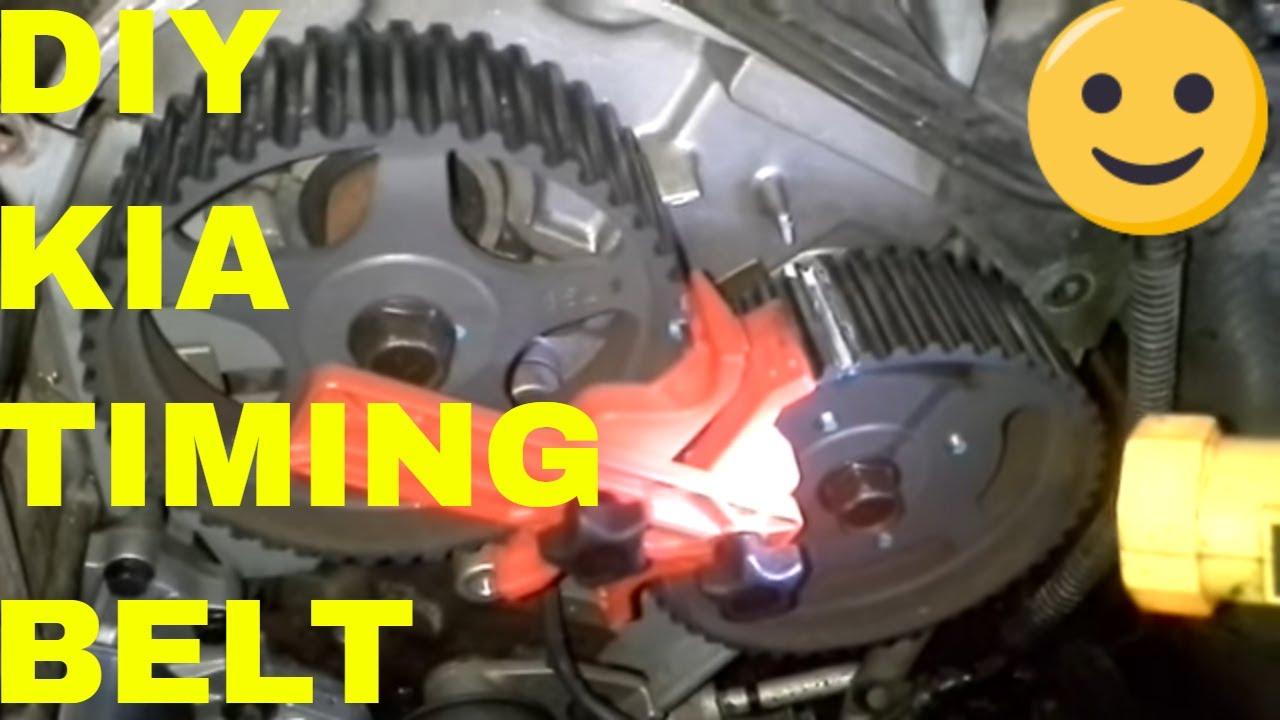 Kia SorrentoSedona: 35 Litre EngineTiming BeltCrank SensorWater Pump Repair andor