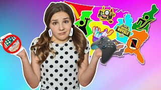 Throwing a Dart at a Map & Letting it CONTROL MY LIFE for 24 HOURS CHALLENGE 🎯| Piper Rockelle