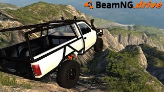BeamNG Drive INDESTRUCTIBLE TRUCK VS MOUNTAIN