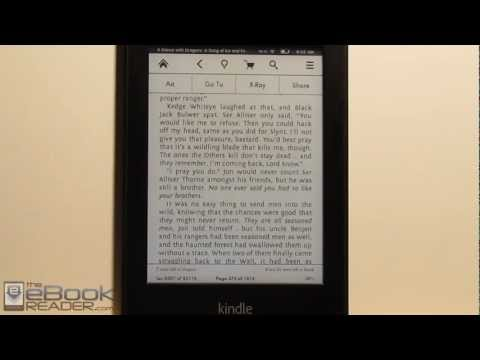 Kindle X-Ray Feature Review
