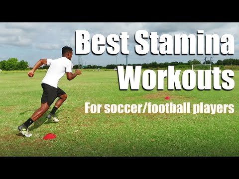 How to improve your stamina for soccer/football | 3 drills to help you last 90 min!