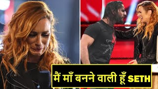 Becky Lynch Reveals That She Is Pregnant With Seth Rollins's Child on WWE Raw 11th May 2020