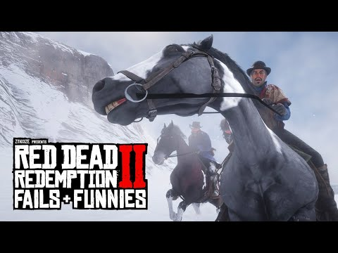 John and Mary-Beth Endgame Train Ride in Red Dead Redemption